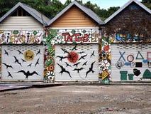 Garaje adornado Imágenes de archivo libres de regalías