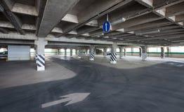 Garaje de subterráneo Imágenes de archivo libres de regalías