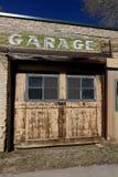 Garaje del vintage en Sipio, Utah Imágenes de archivo libres de regalías