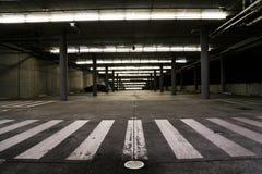Garaje sin fin Foto de archivo libre de regalías