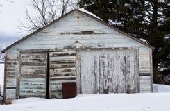 Garaje viejo Fotos de archivo