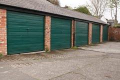 Garajes del almacenamiento del uno mismo Imagen de archivo libre de regalías