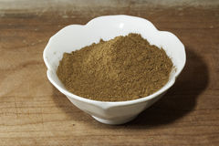 Garam Masala. Spice mix in a bowl Royalty Free Stock Image