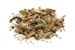 Garam masala , indian spice mix Royalty Free Stock Photos