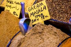 Garam masala for sale in Turkey Royalty Free Stock Image