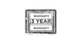 garantía de 3 años Imágenes de archivo libres de regalías