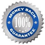 Garantía de la parte posterior del dinero Imagen de archivo