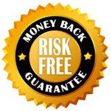 Garantía de la parte posterior del dinero Fotografía de archivo libre de regalías