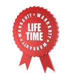 Garantía de por vida Fotos de archivo