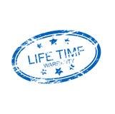 garantía del tiempo de la vida (vector) Imágenes de archivo libres de regalías