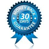 Garantía de la parte posterior del dinero Imagenes de archivo