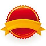 Garanterat emblem Fotografering för Bildbyråer
