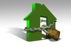 Garantie à la maison Images libres de droits