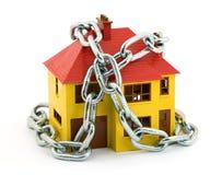Garantie à la maison Photos libres de droits