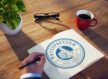 Garantie-Ausweis Logo Premium Concept der hohen Qualität Lizenzfreie Stockbilder