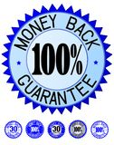 Garantie de dos d'argent Photo stock