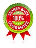 Garantie de dos d'argent Image libre de droits