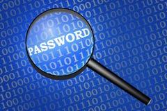 Garantie de mot de passe Photo stock