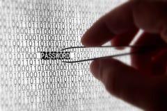 Garantie de mot de passe d'ordinateur Photographie stock libre de droits