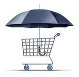 Garantie et protection du consommateur illustration de vecteur