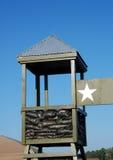 Garantie militaire de camp Images libres de droits
