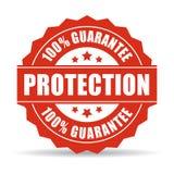 Garantie mit 100 Schutzen Lizenzfreies Stockbild