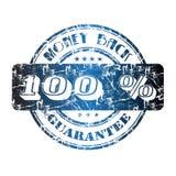 Garanzia della parte posteriore dei soldi Fotografia Stock