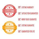 Garanzia di vita Immagini Stock