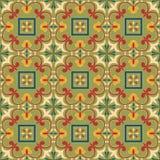 Garatuja abstrata da cor dos testes padrões Imagens de Stock Royalty Free