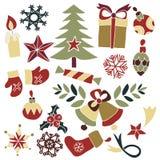 Garatuja dos bens do Natal Ilustração do Vetor