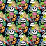 Garatujas! Vetor de alta qualidade colorido Imagem de Stock