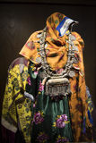 Garb in Oman. Typical garb for Omani women royalty free stock images