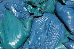 Garbage. A collection of garbage bags Stock Photography