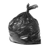Garbage. Bag isolated on a white background Royalty Free Stock Images