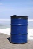 Garbage. Blue garbage Stock Photos