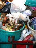 Garbage Background stock images