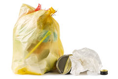 Garbage bag Royalty Free Stock Photos