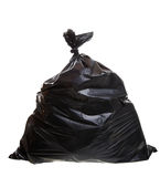 Garbage bag Royalty Free Stock Image