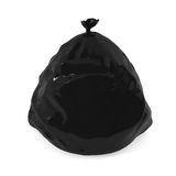 Garbage bag isolated on white Royalty Free Stock Photography