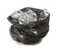 Garbage bag Stock Photography