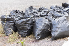 Garbage bags. On the Royalty Free Stock Photography