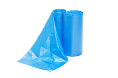 Garbage bags. Isolated on a white background Royalty Free Stock Images