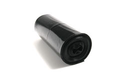 Garbage bags on a roll Royalty Free Stock Photos