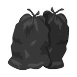 Garbage bags vector illustration Stock Images