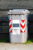 Garbage bin. In the city Royalty Free Stock Photo