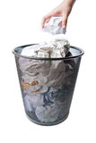 Garbage bin Royalty Free Stock Image