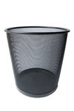 Garbage bin. On white background Stock Photography