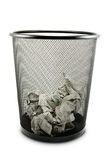 Garbage bin Stock Photography