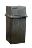 Garbage bin isolated Royalty Free Stock Photo