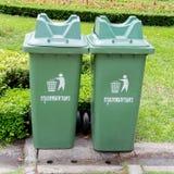 Garbage bin Royalty Free Stock Photography